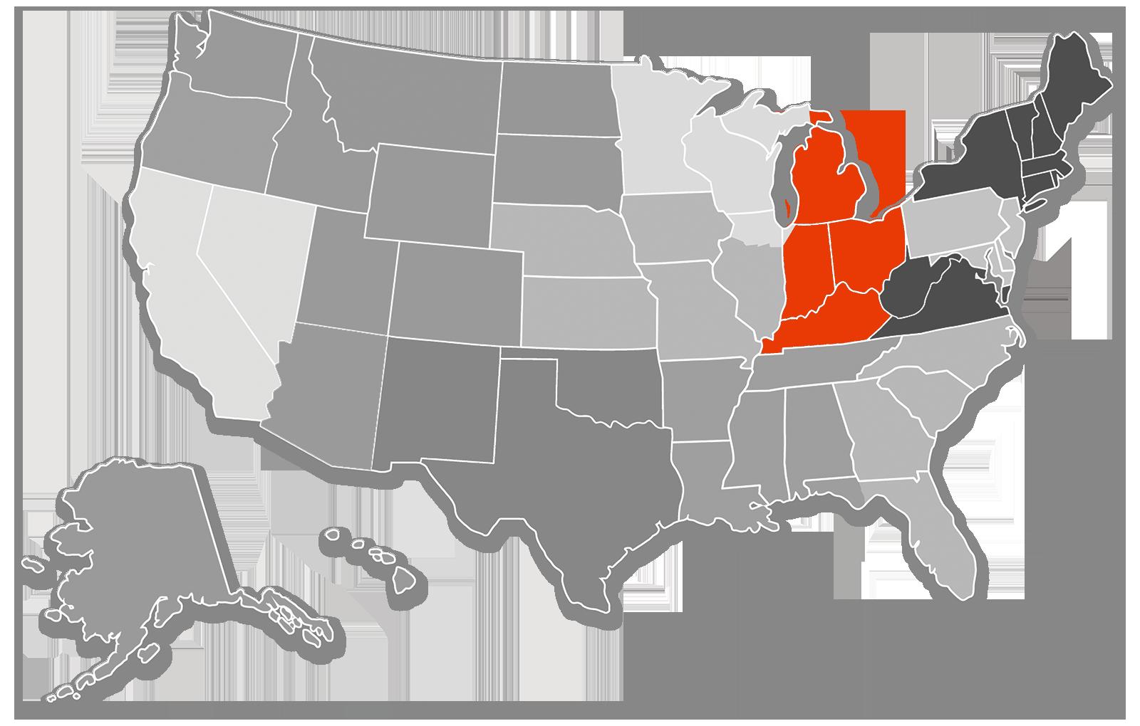 Mid East Territory